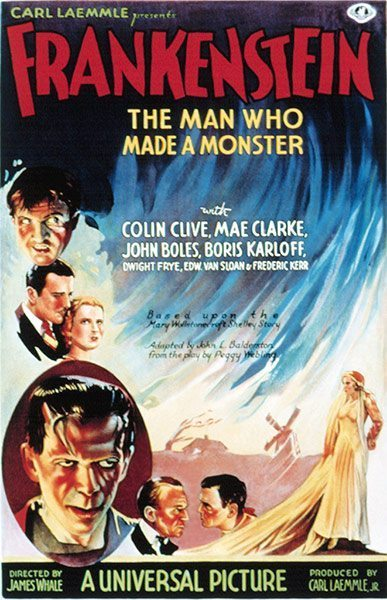 Top Selling Film Posters - Frankenstein, 1931