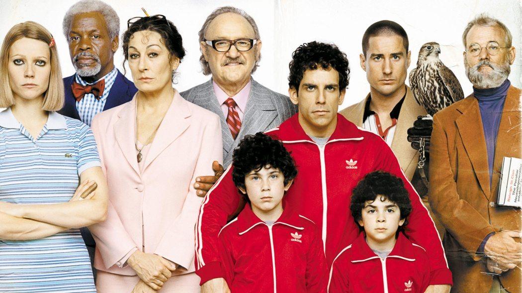 Familjen Tenenbaum.