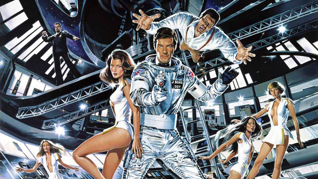 Poster till James Bond Moonraker