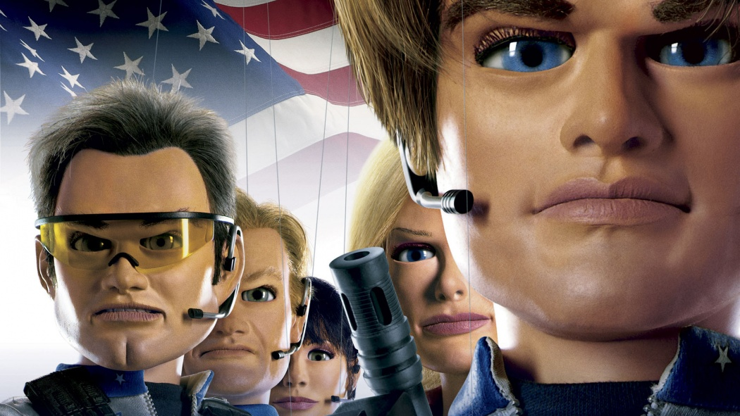 """Poster till """"Team America"""""""