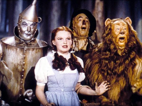 """Stillbild från """"Trollkarlen från Oz"""""""