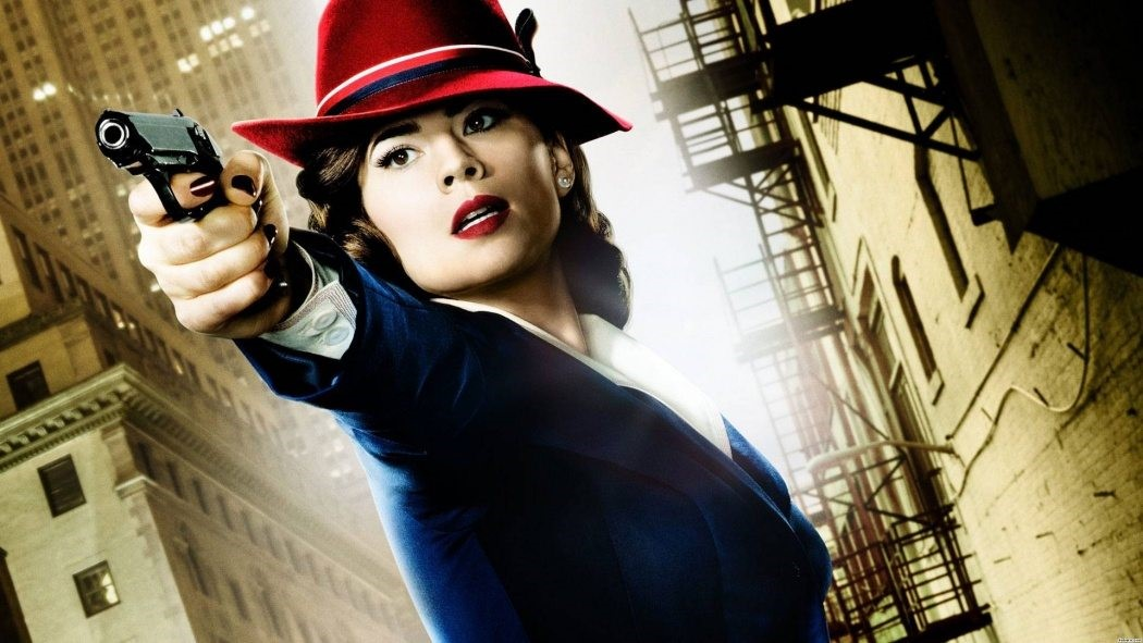 Hayley Atwell i Agent Carter.