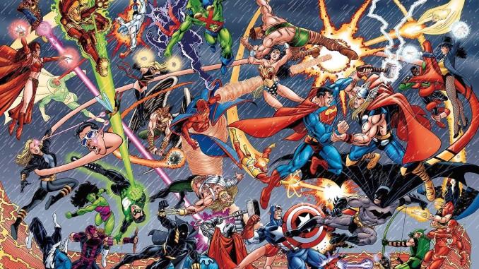 Marvel-vs-DC-Wallpaper