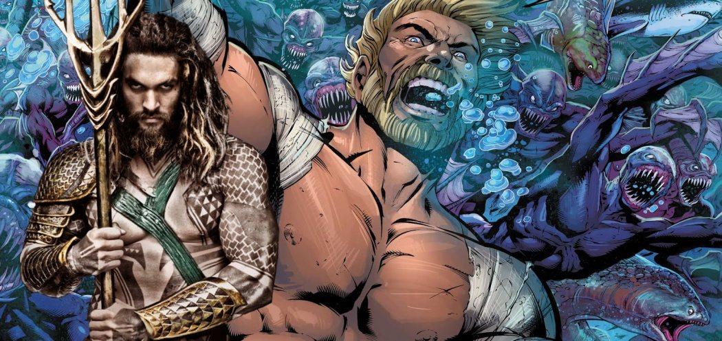 Aquaman i sin filmiska och tecknade versioner