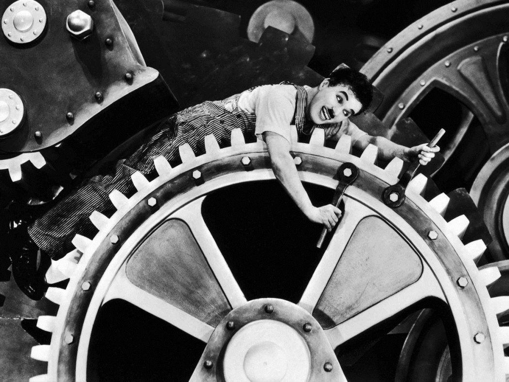 Charlie Chaplin i Moderna tider