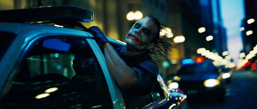 """HEATH LEDGER stars as The Joker in Warner Bros. Pictures' and Legendary Pictures' action drama """"The Dark Knight,"""" distributed by Warner Bros. Pictures and also starring Christian Bale, Michael Caine, Gary Oldman, Aaron Eckhart, Maggie Gyllenhaal and Morgan Freeman. PHOTOGRAPHS TO BE USED SOLELY FOR ADVERTISING, PROMOTION, PUBLICITY OR REVIEWS OF THIS SPECIFIC MOTION PICTURE AND TO REMAIN THE PROPERTY OF THE STUDIO. NOT FOR SALE OR REDISTRIBUTION."""