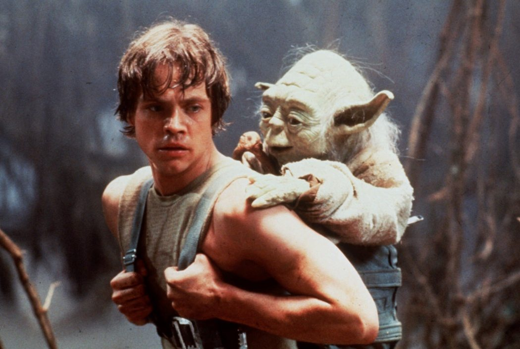 FILE–– Mark Hamill as Luke Skywalker furthers his Jedi training with Yoda in 'Star Wars : The Empire Strikes Back'. With fans flocking to see ``Star Wars: Episode I The Phantom Menace,'' urban legends surrounding the films have become plentiful. Dozens of Web sites full of ``Star Wars'' triviahave popped up and newly enthusiastic fans are sharing insider tidbits.( AP Photo / Lucasfilm ltd, ho )