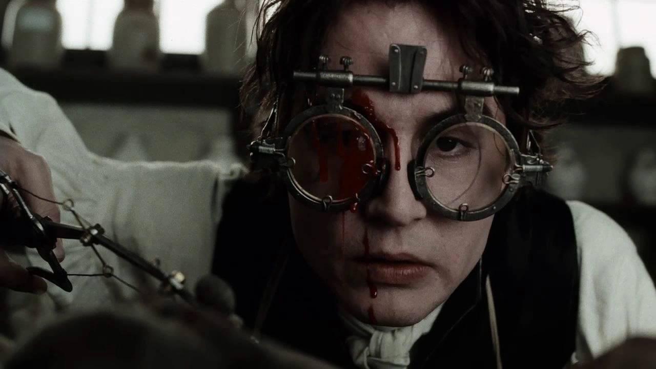 Johnny Depp i Sleepy Hollow