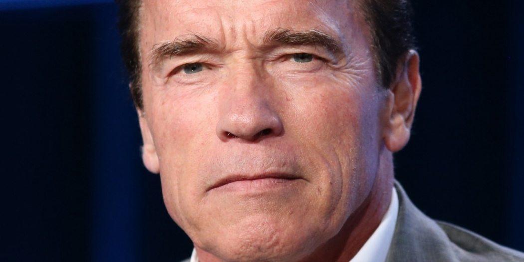 Bild på Arnold Schwarzenegger.