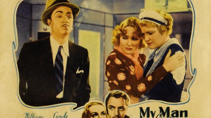 """Poster till """"My Man Godfrey"""" en tidig Screwball."""