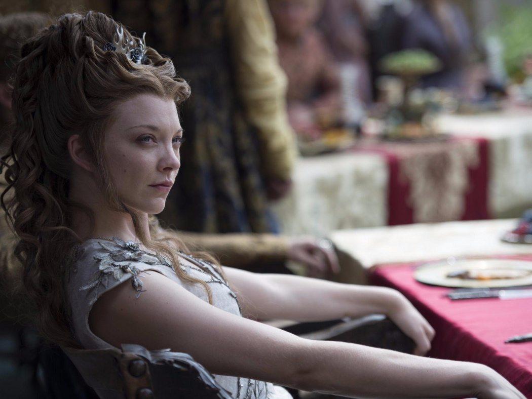 Natalie Dormer som Margaery Tyrell i Game of Thrones.