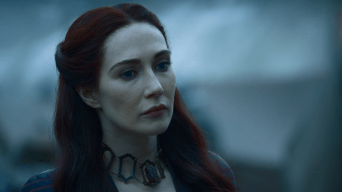 Carice van Houten som The Red Woman i Game of Thrones.