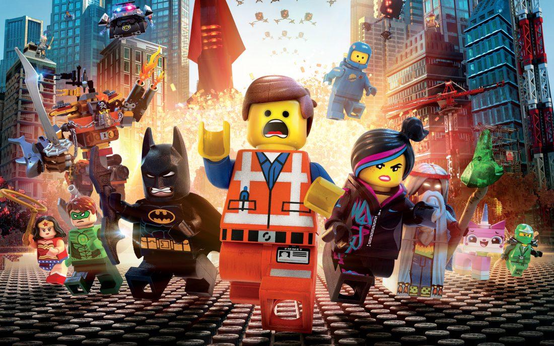 Poster till LEGO-filmen