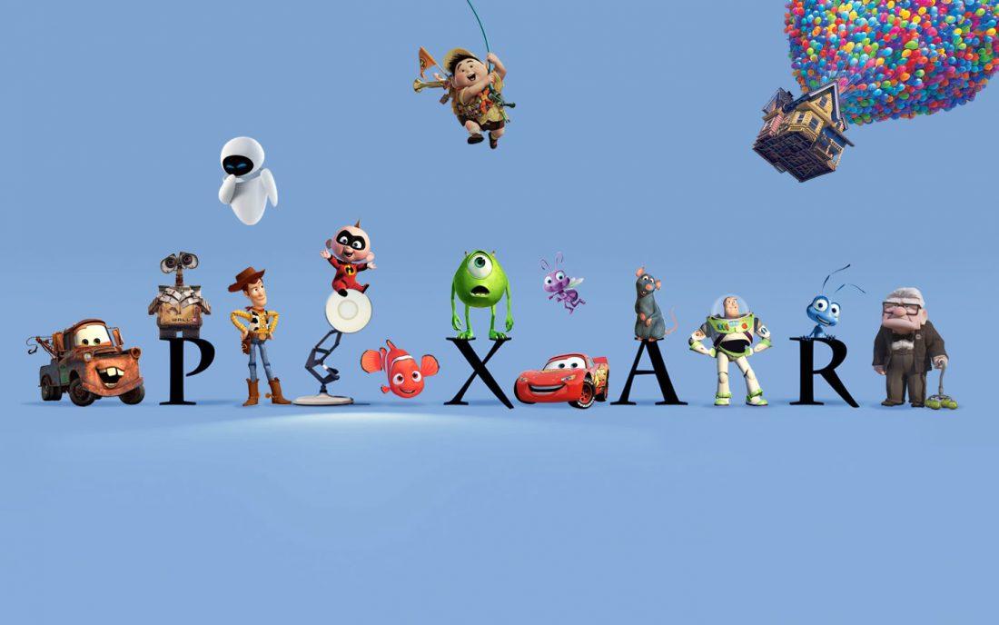 Pixars logga.