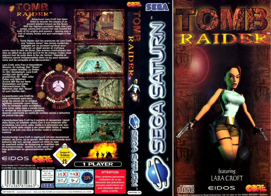 Tomb Raider (E) Front+Back