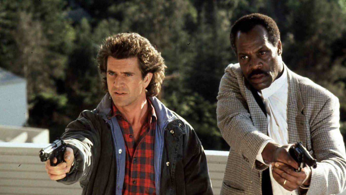 Gibson och Glover i dödligt vapen