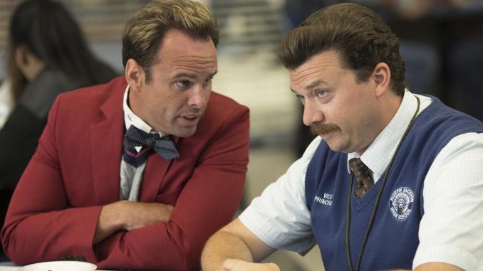 Walton Goggins och Danny McBride i Vice Principals. Foto: HBO.