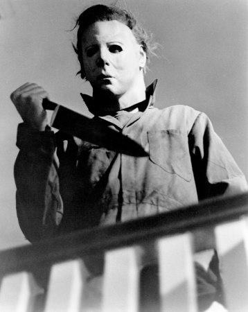 Michael Myers med stor kniv