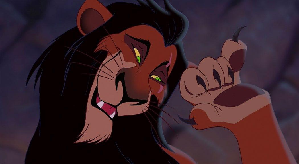 Scar i Lejonkungen