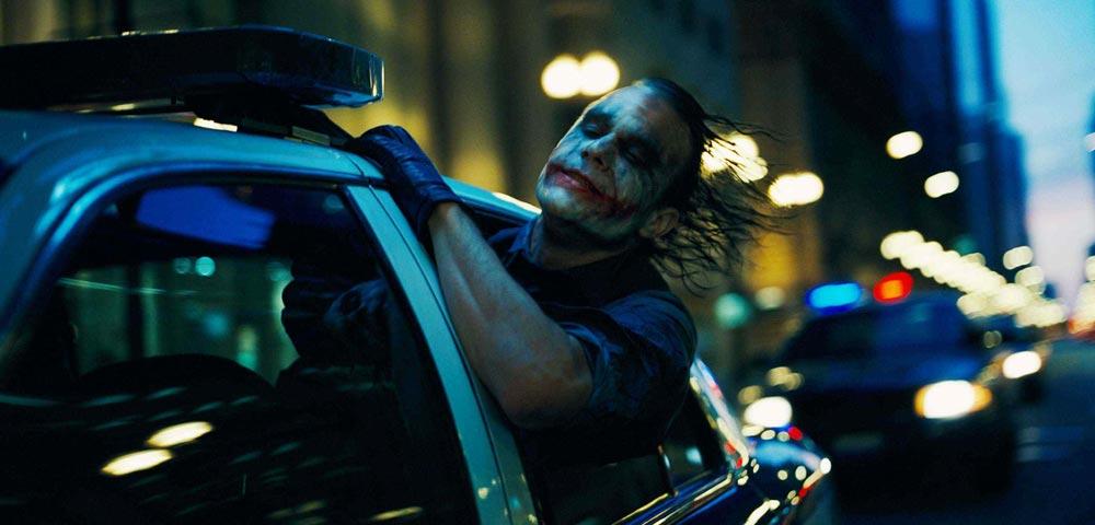 Heath Ledger som Jokern