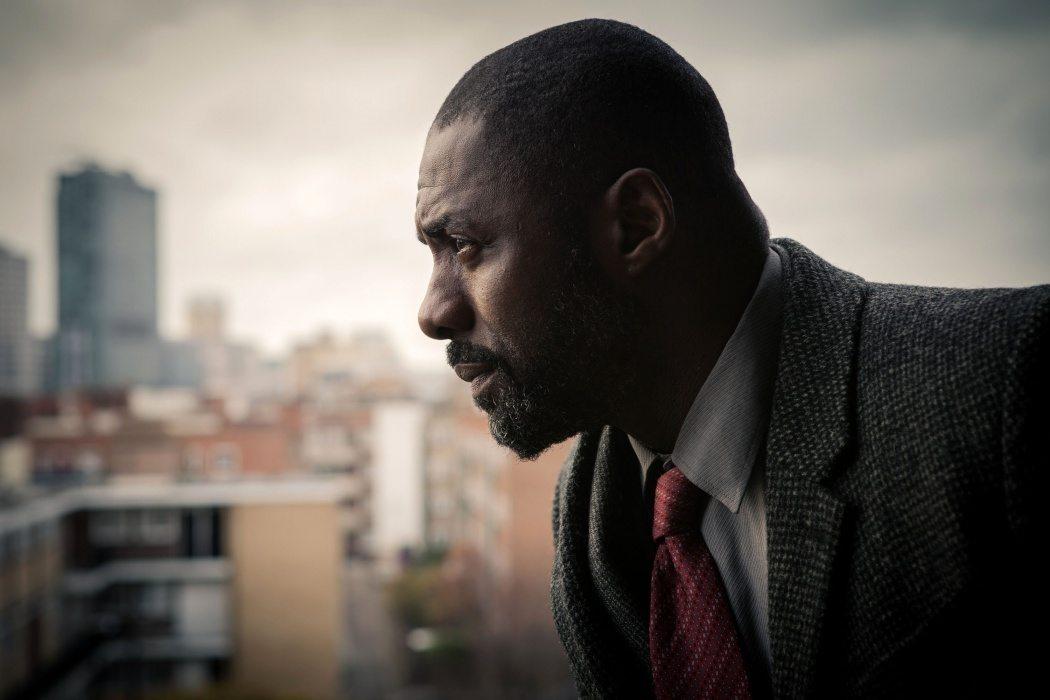 Idris Elba i thrillerserien Luther