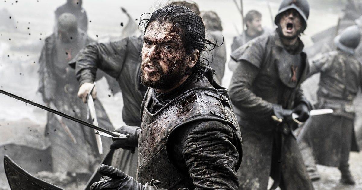 Kit Harington som Jon Snow i Game of Thrones.