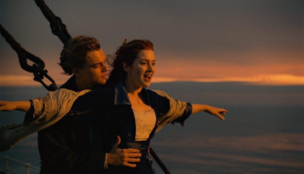 Leo DiCaprio och Kate Winslet i Titanic