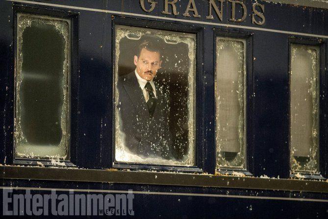Johnny Depp i Mordet på Orientexpressen.