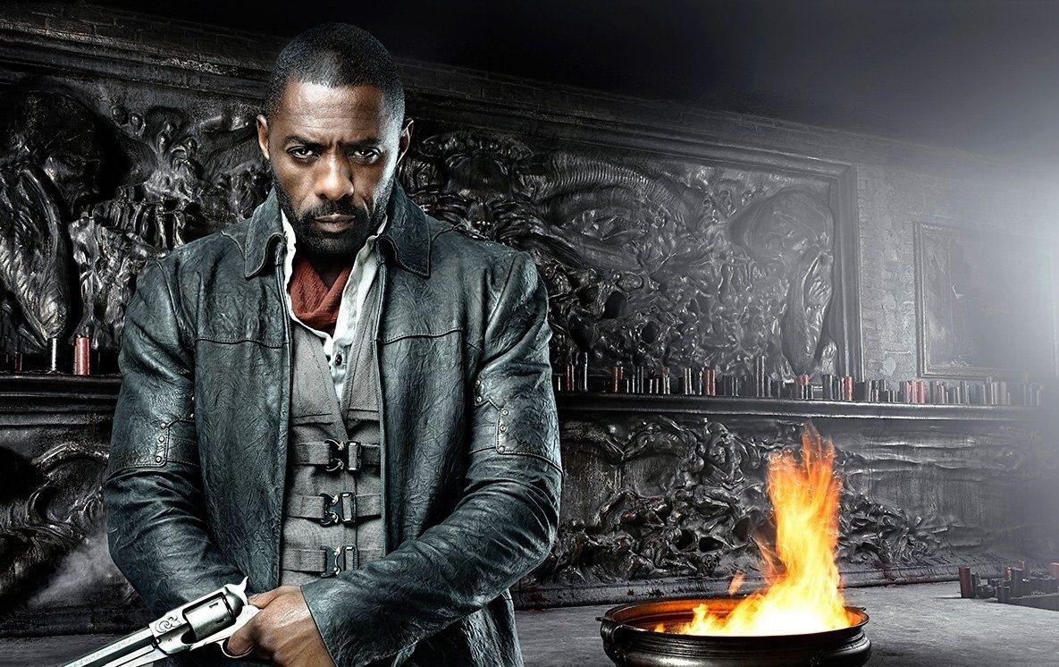 """Idris Elba poserar som Revolvermannen på poster till """"The Dark Tower"""""""