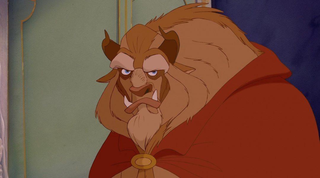 Odjuret från filmen Skönheten och Odjuret Disneyfilm online