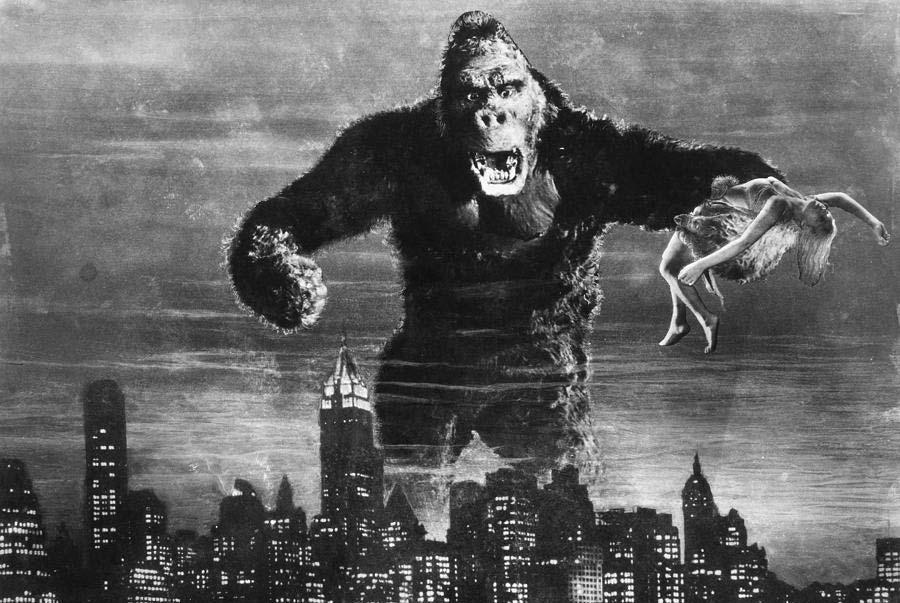 """Stillbild från """"King Kong"""""""