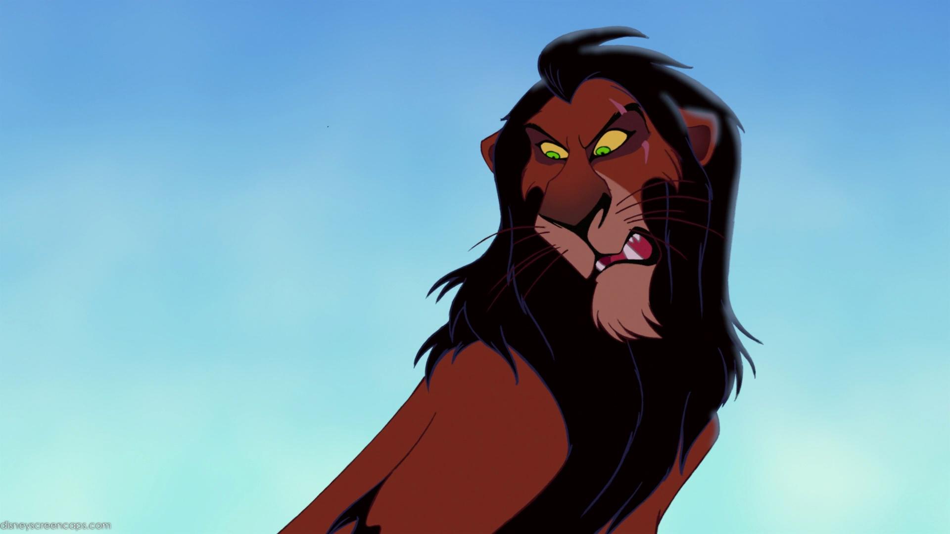 Scar i Lejonkungen - en klassisk Disneyfilm