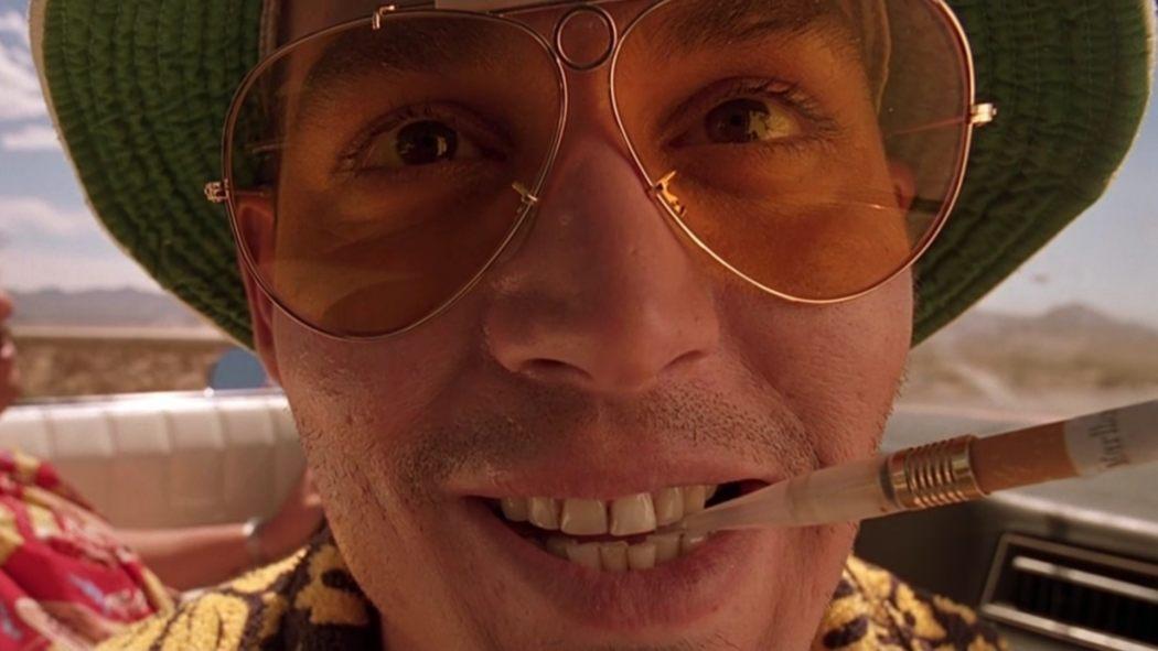 Johnny Depp i filmen Fear and Loathing in Las Vegas