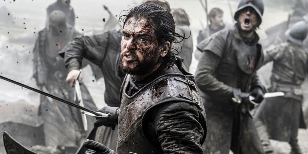 Kit Harington i GAme of Thrones