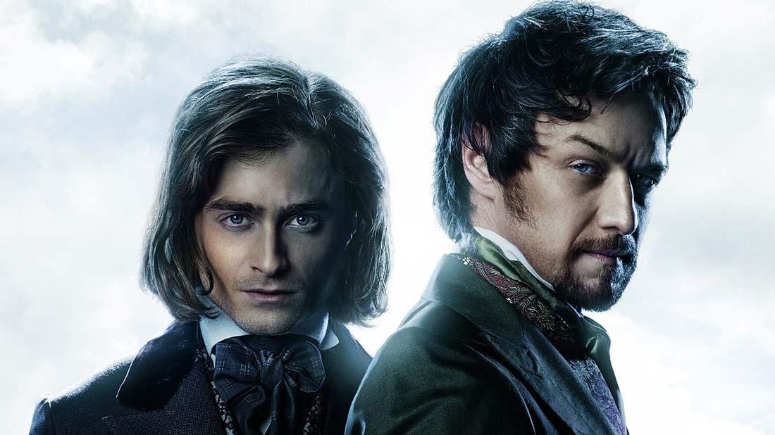 Daniel Radcliffe och James McAvoy i Victor Frankenstein.