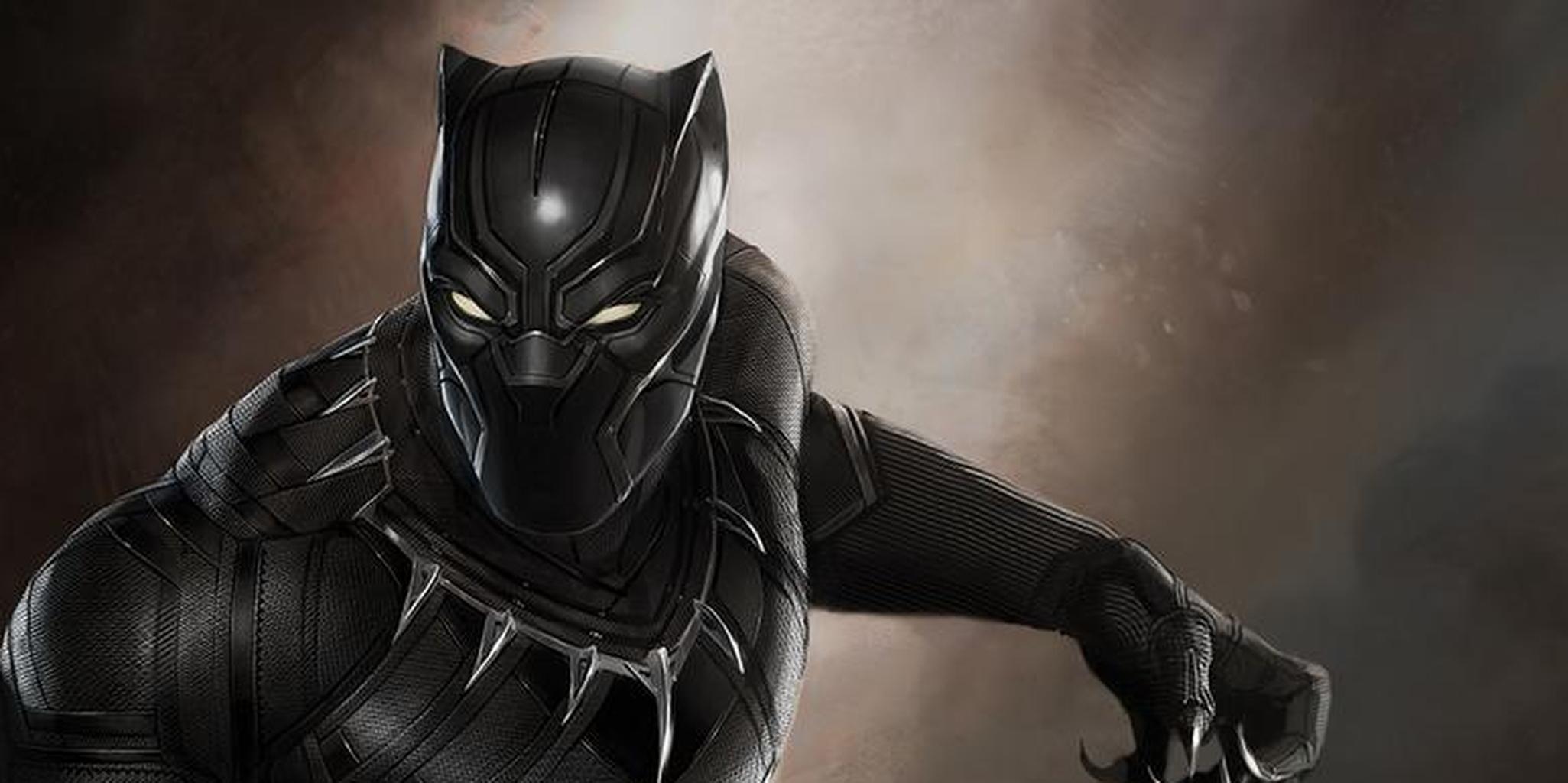 Black Panther i skarpt läge