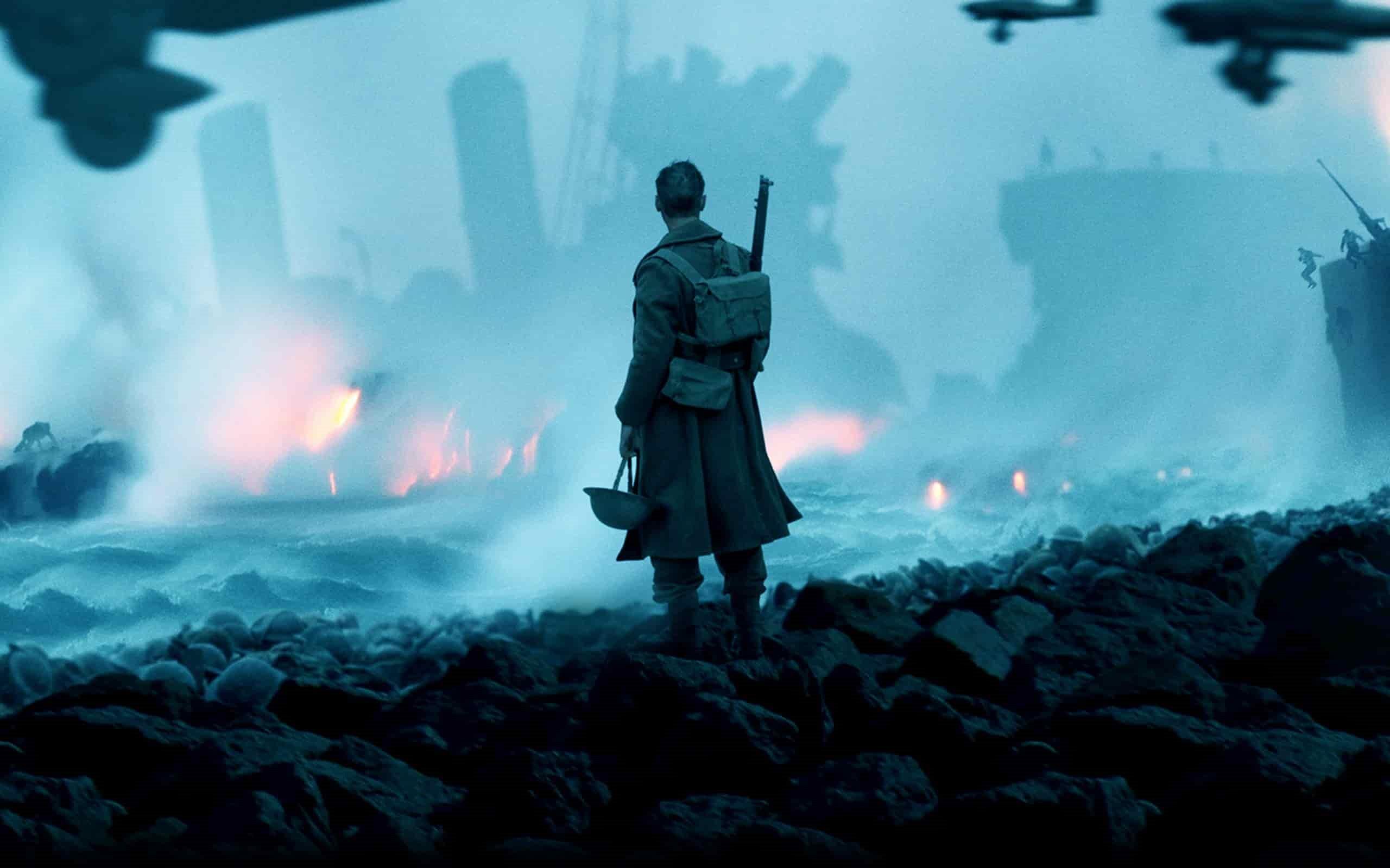 Poster till Dunkirk av Christopher Nolan - ny krigsfilm från 2017