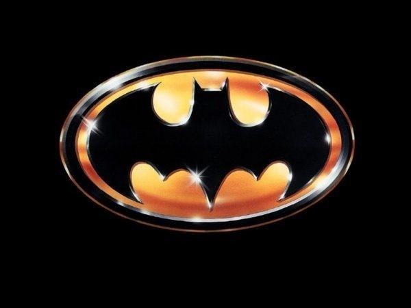 Bild på Batmans logga.