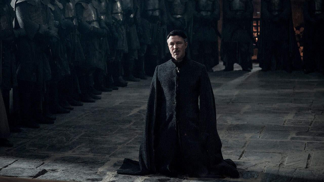 Aiden Gillen som Littlefinger i Game of Thrones