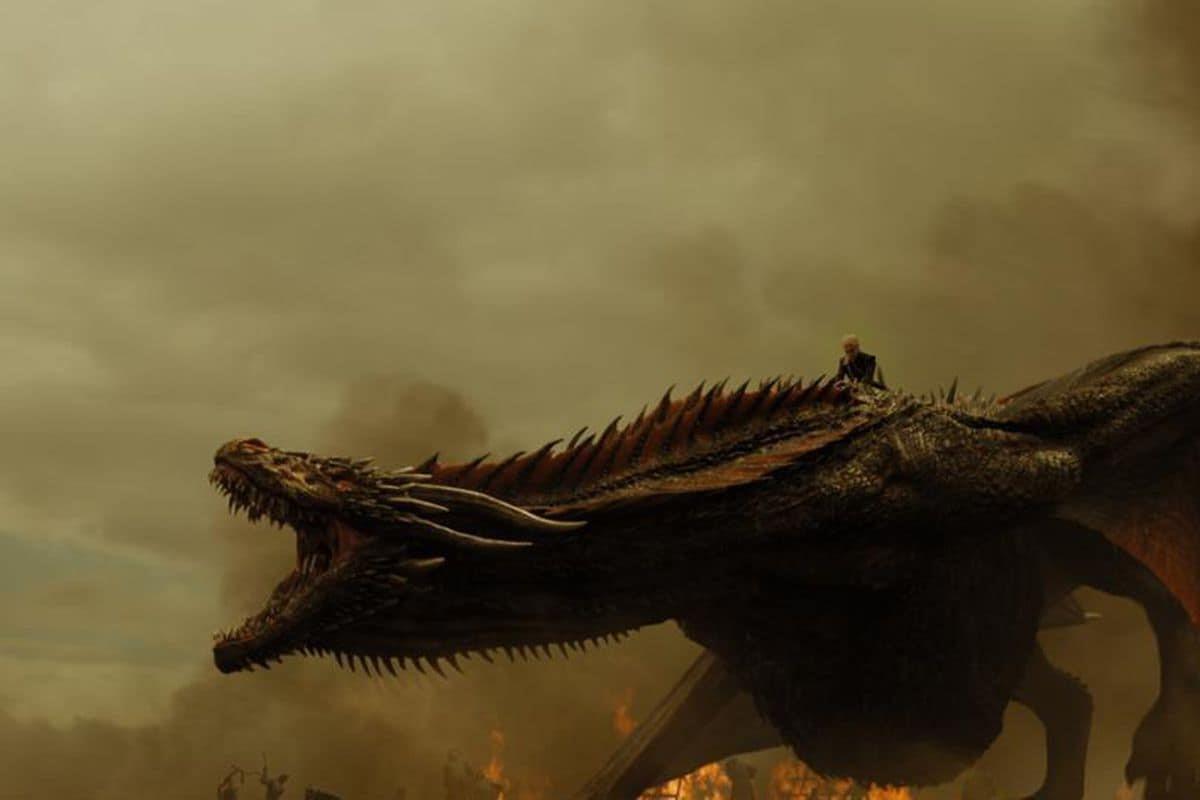 Isdraken i Game of Thrones