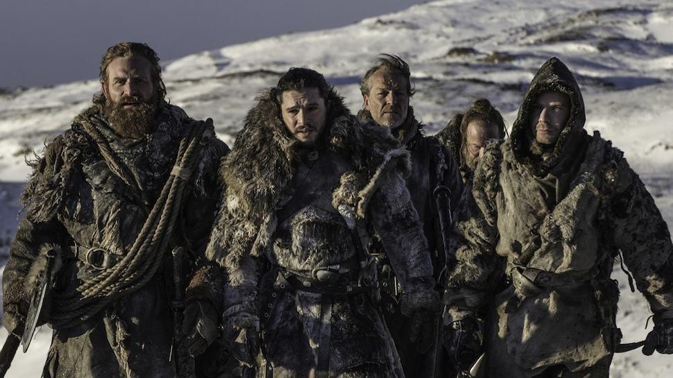 Kit Harington som Jon Snow med flera i Game of Thrones