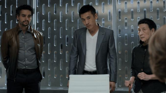 Ramon Rodriguez, Yutaka Takeuchi och Wai Chin Ho i The Defenders