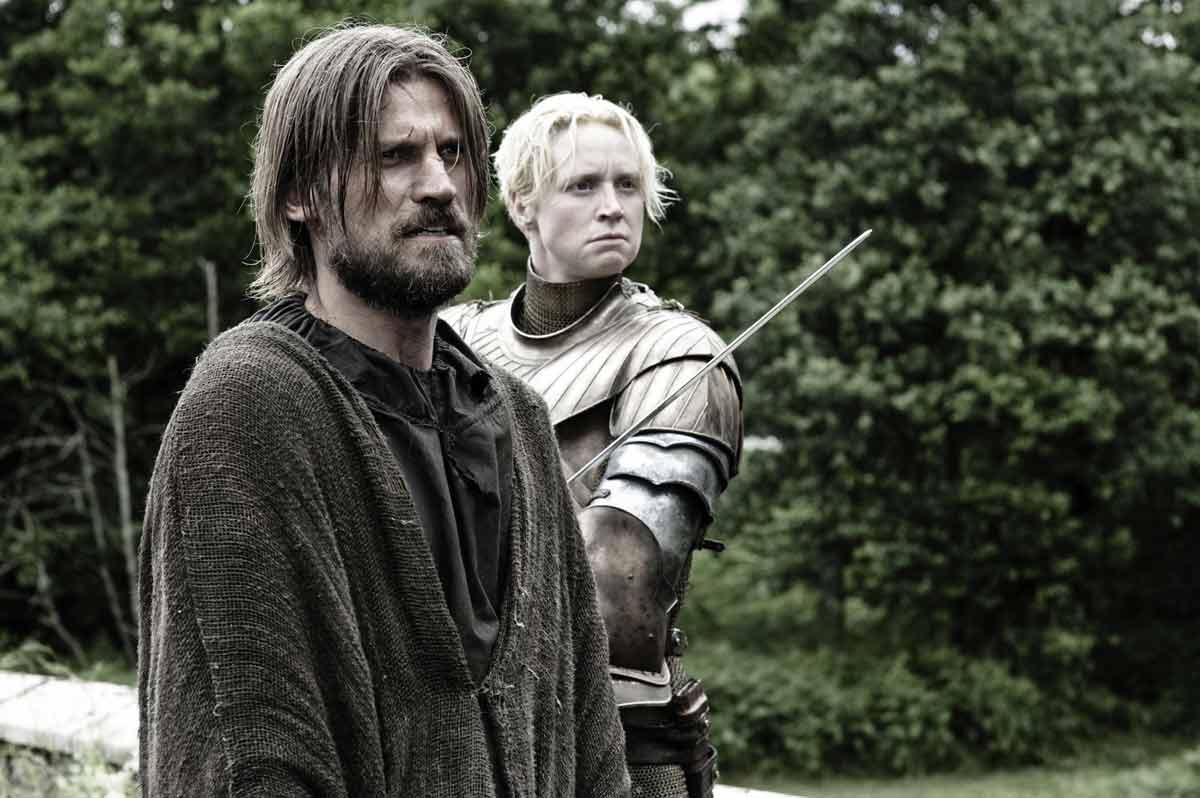 Jamie Lannister och Brienne