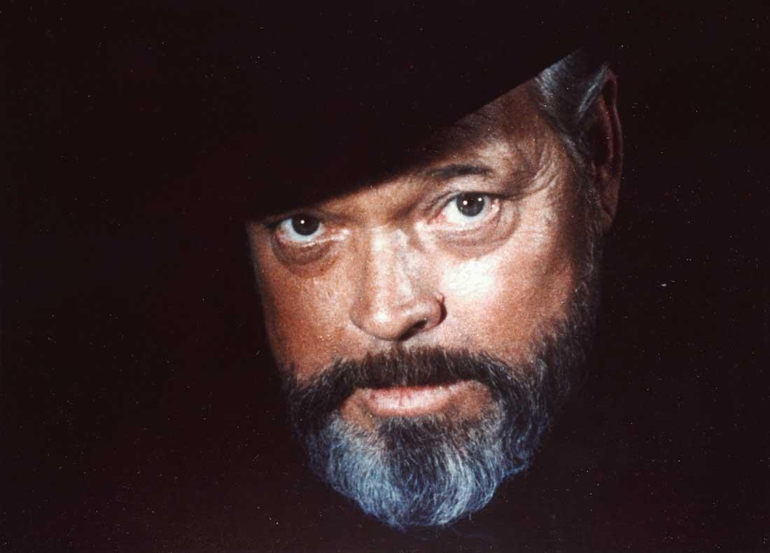 "Orson Welles i ""B som i Bluff"""