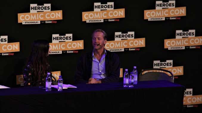 Iain Glen på Stockholm Comic Con 2017. Foto: Carl Hempel / Filmtopp Media.