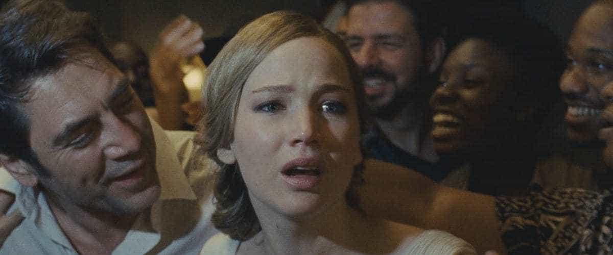 Jennifer Lawrence och Javier Bardem i Mother!