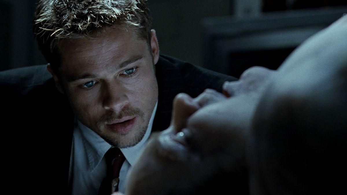 """Brad Pitt i """"Seven"""""""