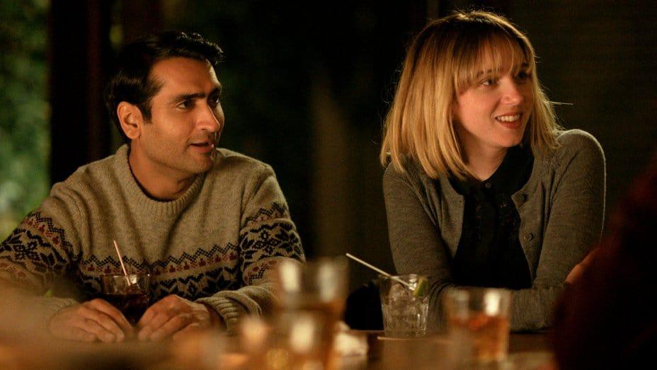 Kumail Nanjiani och Zoe Kazan i The Big Sick