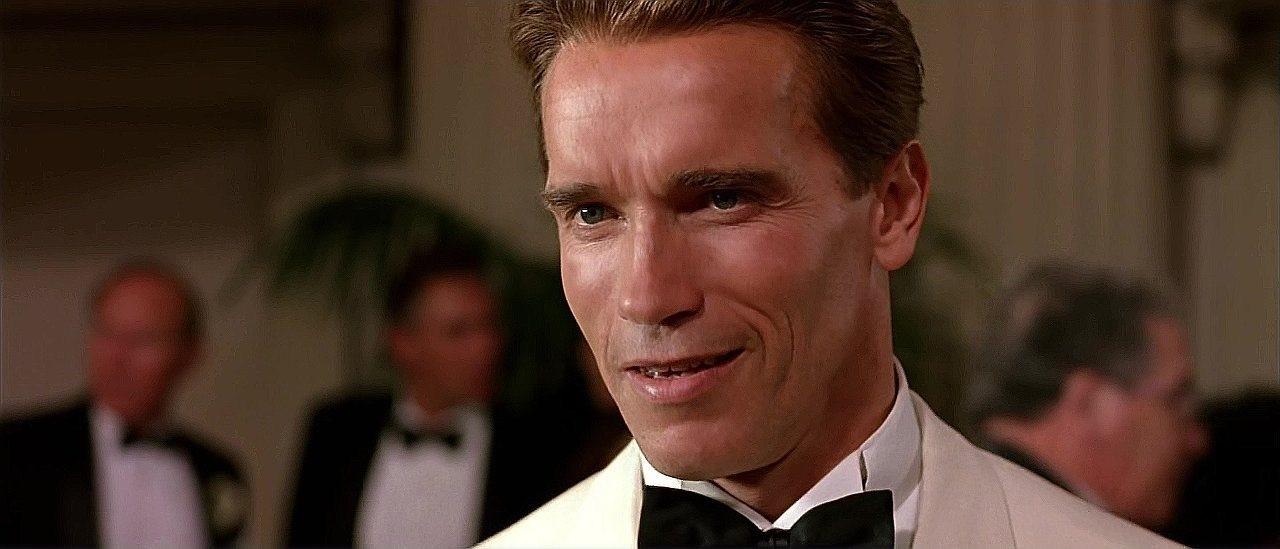 Arnold Schwarzenegger i True Lies av James Cameron