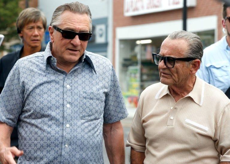 """Robert De Niro och Joe Pesci återförenade framför kameran i Martin Scorseses """"The Irishman"""""""